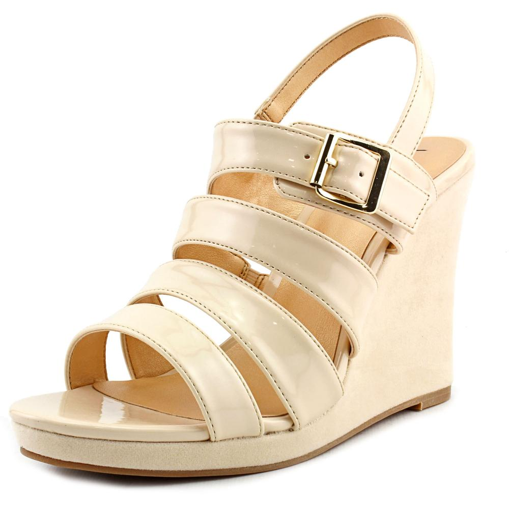 Luichiny A Dreanne Open Toe Synthetic Wedge Sandal by Luichiny