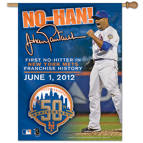 "WinCraft Royal New York Mets 27"" x 37"" Vertical Banner - No Size"