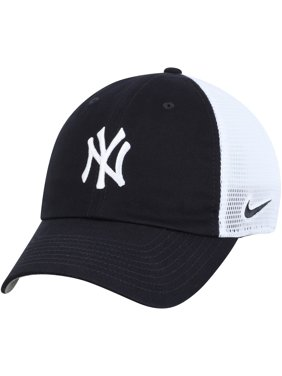 official photos 8f8c1 405f6 Product Image New York Yankees Nike Heritage 86 Team Trucker Adjustable Hat  - Navy White - OSFA