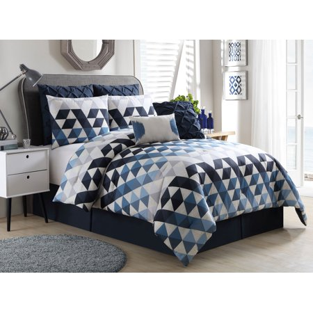 brown and blue bedding set queen tokida for