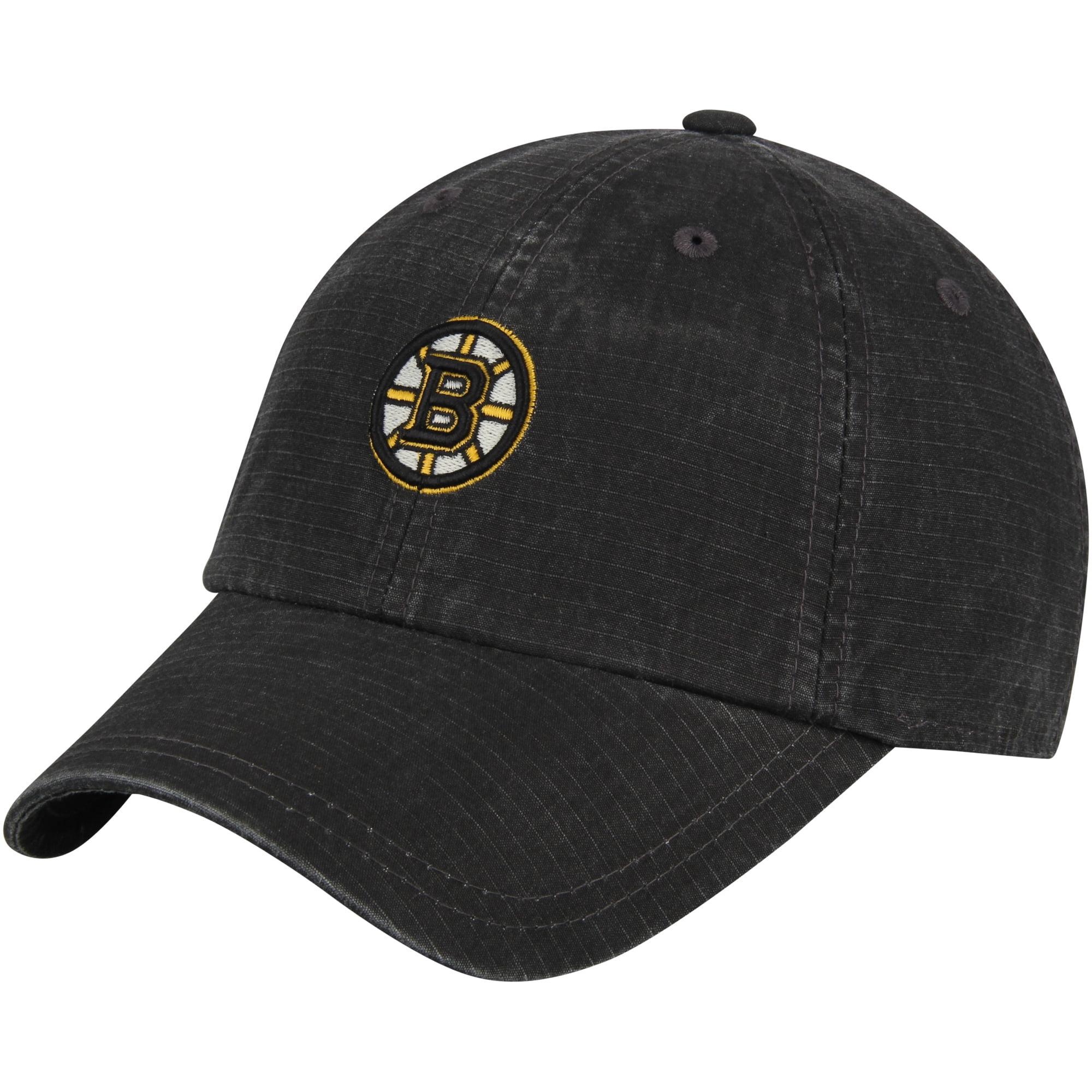 Boston Bruins American Needle Conway Ripstop Adjustable Hat - Black - OSFA