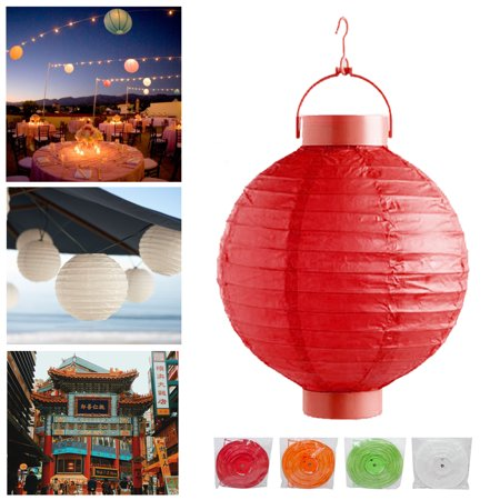 5X Chinese Paper LED Lanterns Lamps Wedding Party Decoration Festival Lights New - Fall Festival Decorations
