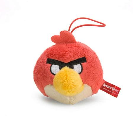 "Angry Birds Red Bird Mini 3"" Plush Toy"
