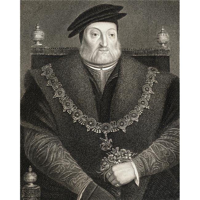 Charles Brandon 1St Duke of Suffolk Viscount Lisle C.14841545 English Poster Print, Large - 26 x 34 - image 1 de 1