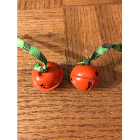 Christmas Bell Decoration Set Of 2
