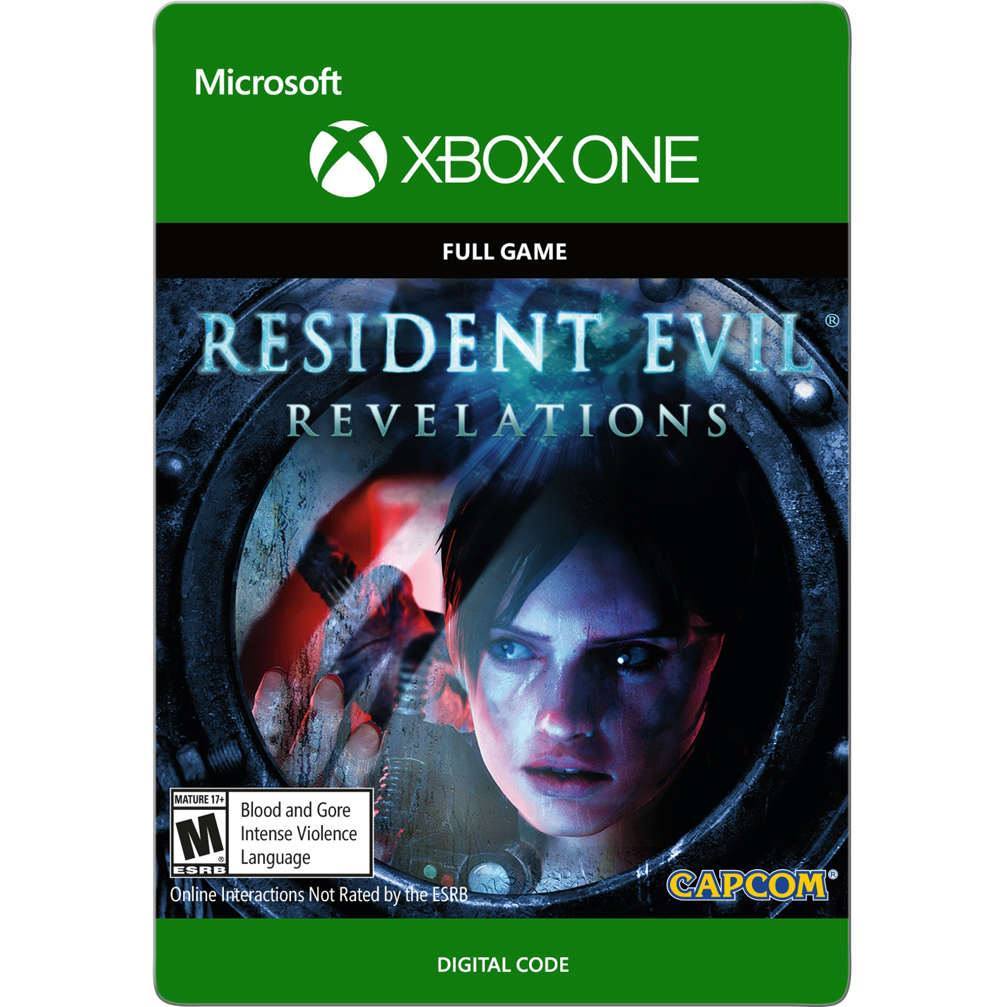 Xbox One Resident Evil Revelations HD (email delivery)