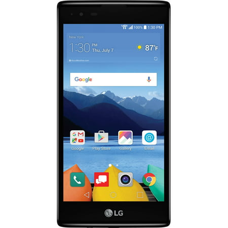 Verizon Wireless Lg K8 V 16Gb Prepaid Smartphone  Black