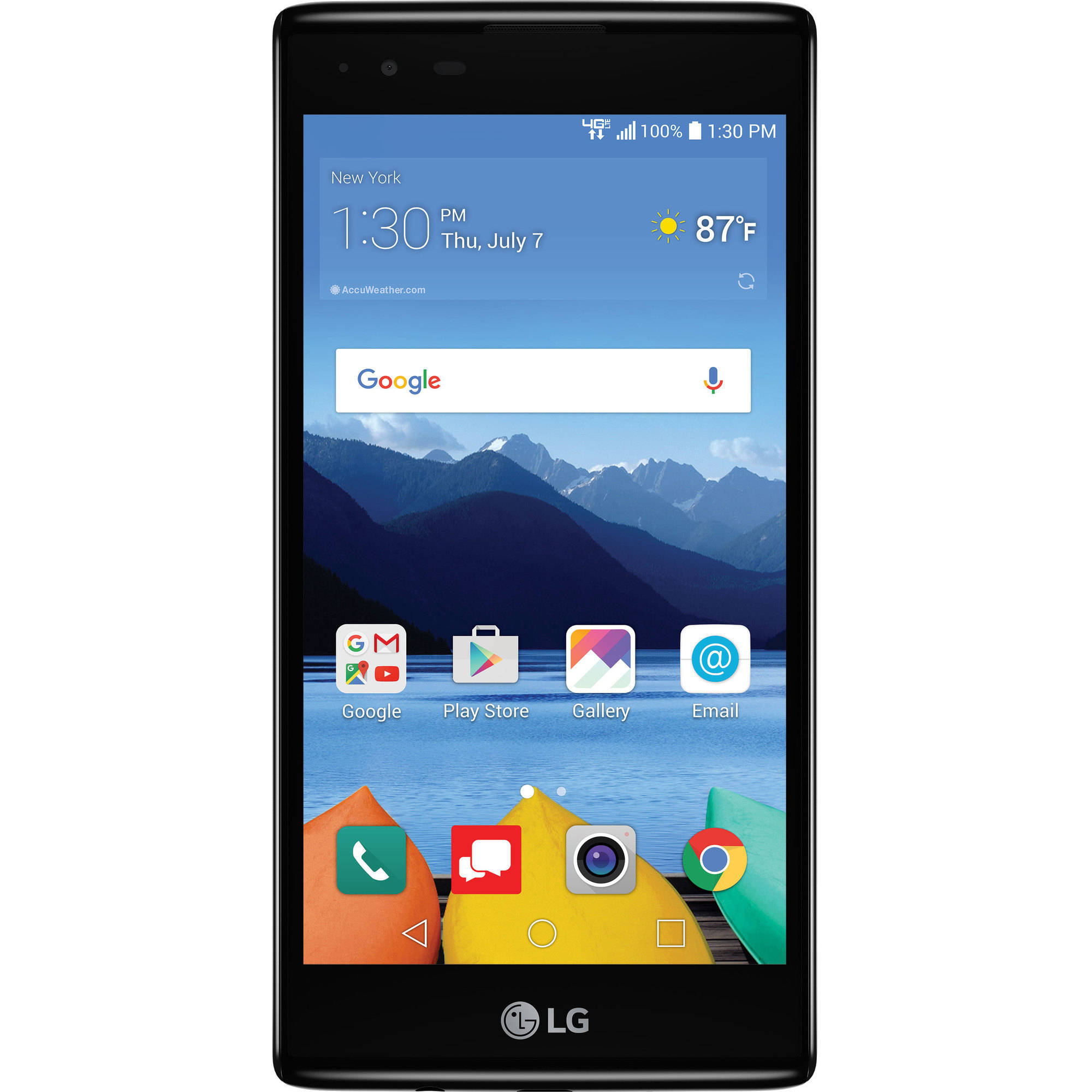 Verizon Wireless LG K8 V 16GB Prepaid Smartphone, Black