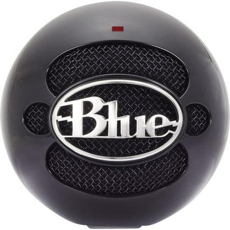 Blue Microphones Snowball USB Condenser Microphone, Gloss Black