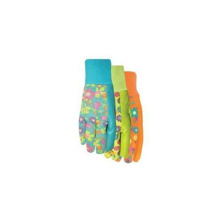 Midwest Quality Glove Ladies Jersey/Latx Glove 589H8