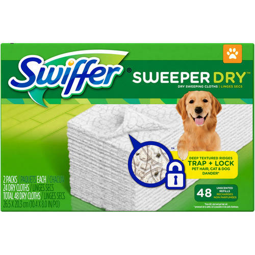 Swiffer® Sweeper Dry™ Dry Sweeping Pad Pet Refills 48 ct Box