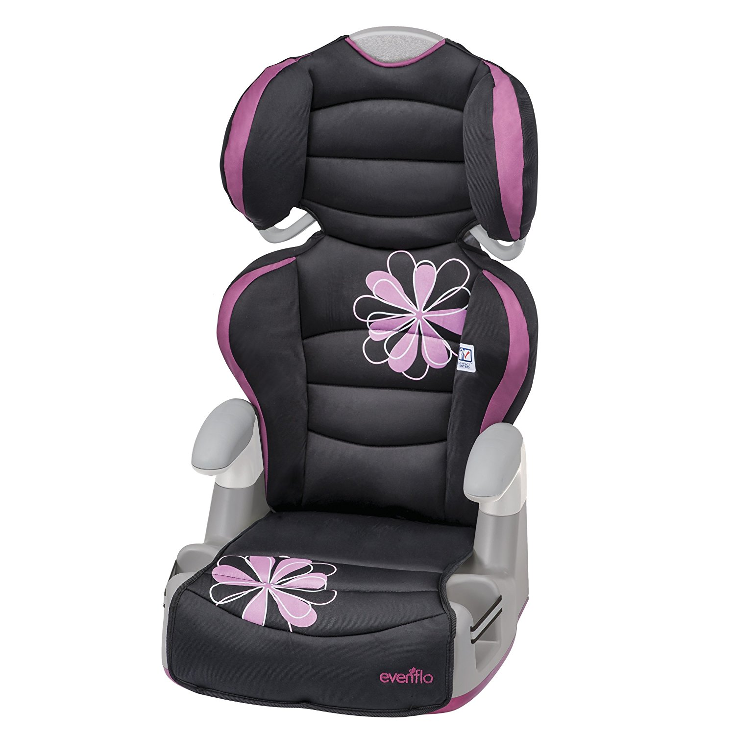 Amp High Back Booster Car Seat, Carrissa, US, Brand Evenflo