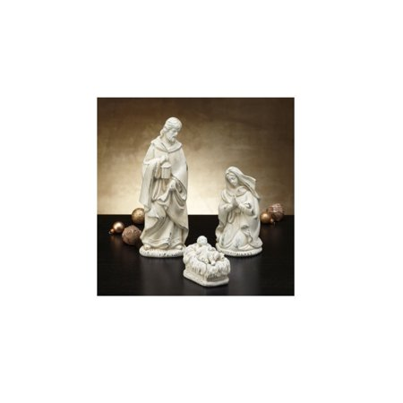 Holy Family 4-Piece Nativity Figurine Set, Baby Jesus -