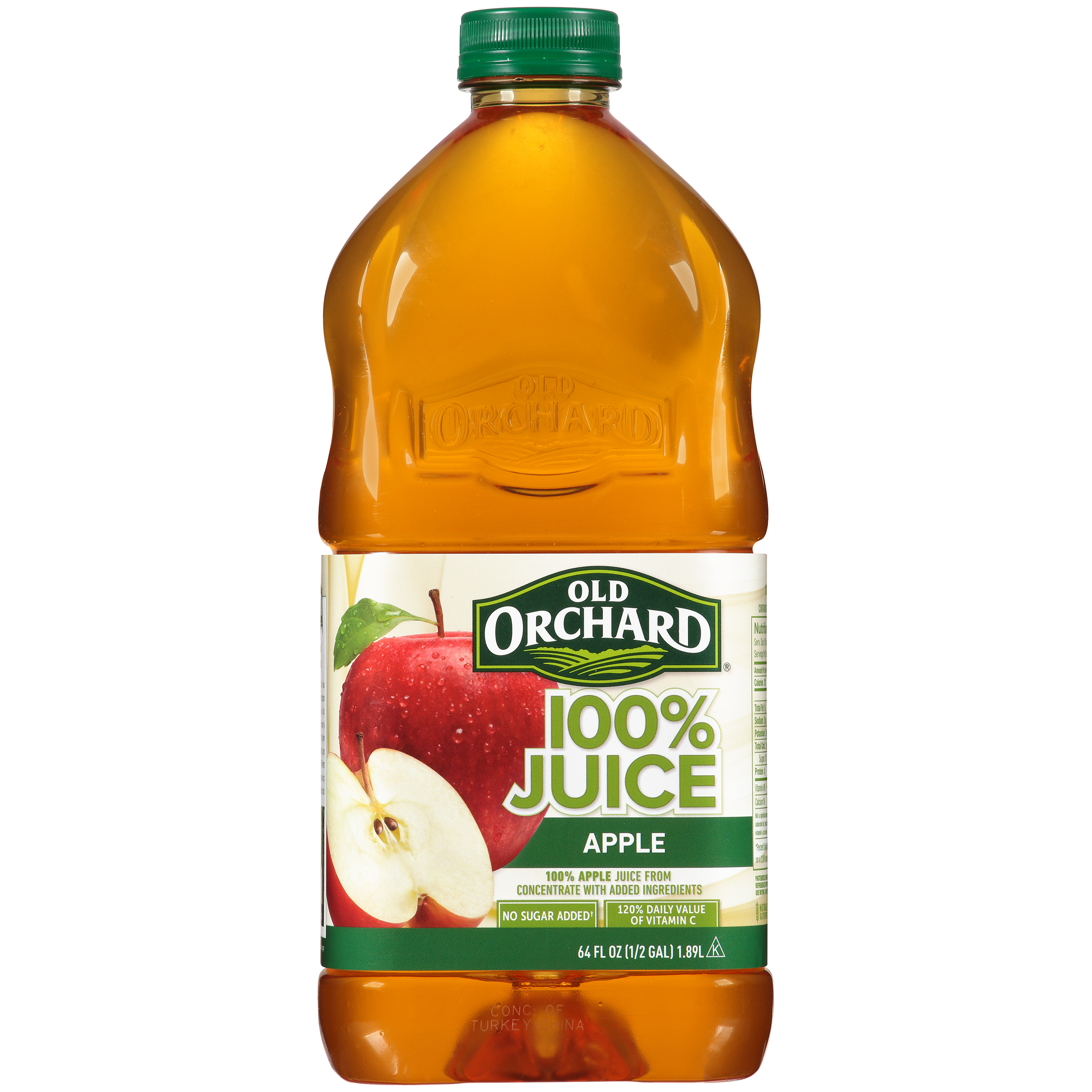 Old Orchard 100% Juice, Apple, 64 Fl Oz
