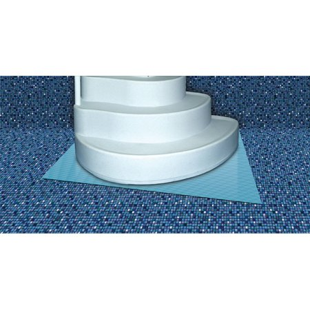 3\'x4\' Swimming Pool Step Ladder Mat or Step Pad - Liner Protection ...