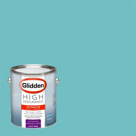 Glidden High Endurance, Interior Paint and Primer, Timberlake Teal, #90GG - Teal Paint
