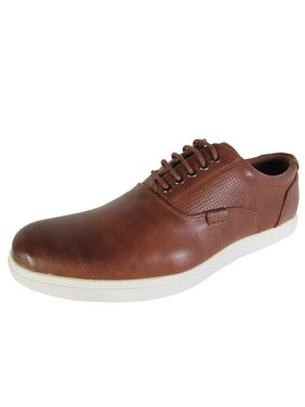 2aa037258486 Product Image Madden by Steve Madden Mens M-Renly Lace Up Oxford Sneaker  Shoes, Brown,