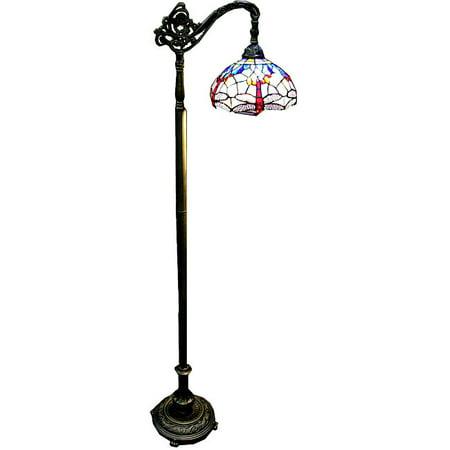 Tiffany-style Dragonfly Reading Lamp ()