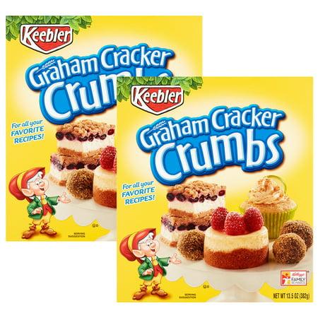 (3 Pack) Keebler Graham Cracker Crumbs 13.5 oz