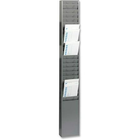 MMF, MMF270R1TCRGY, 25-Pocket Time Card Rack, 1 Each, Gray - Mmf Time Card