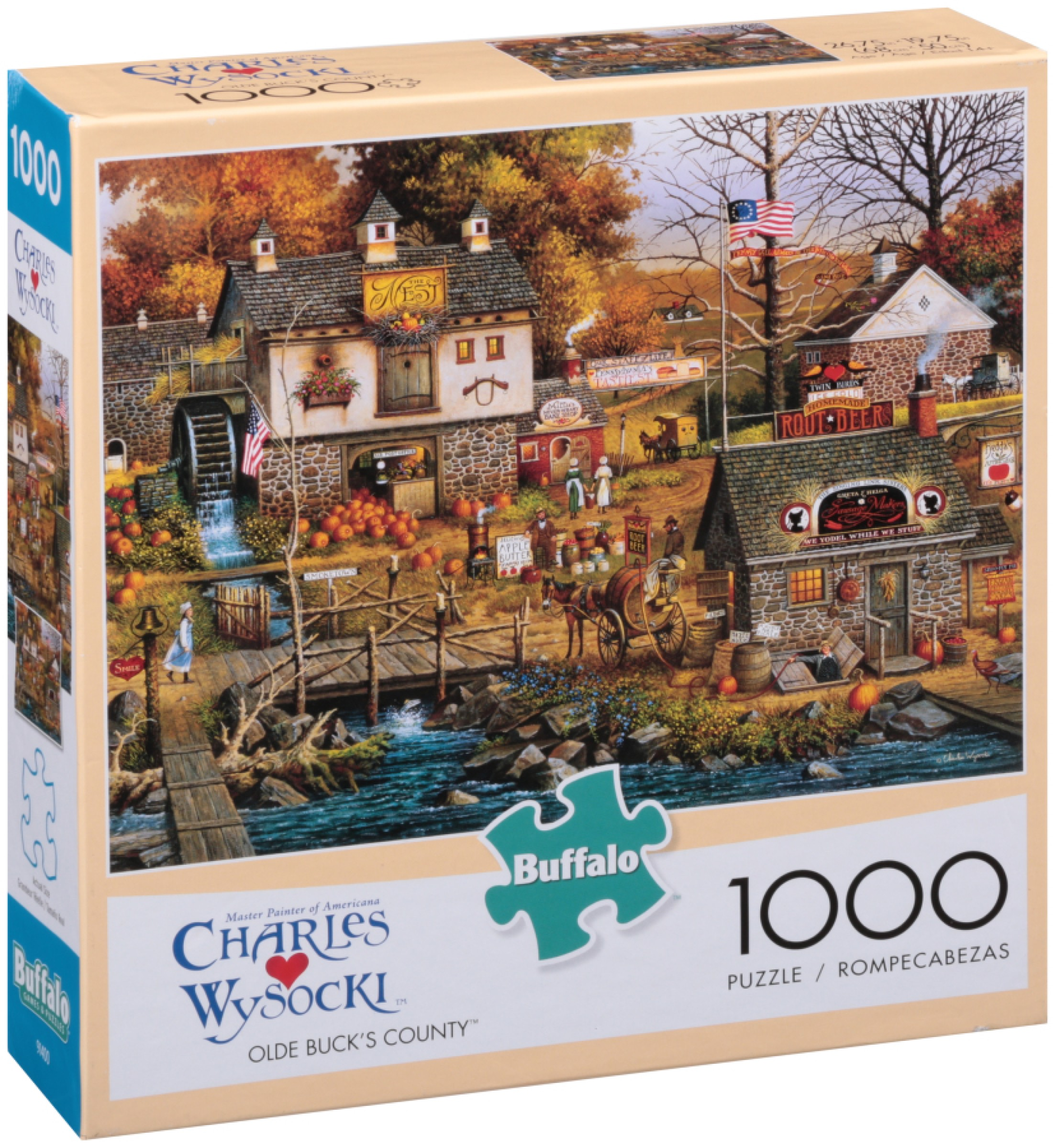 Buffalo Charles Wysocki Olde Buck's County 1000 Puzzle by Buffalo Games, LLC