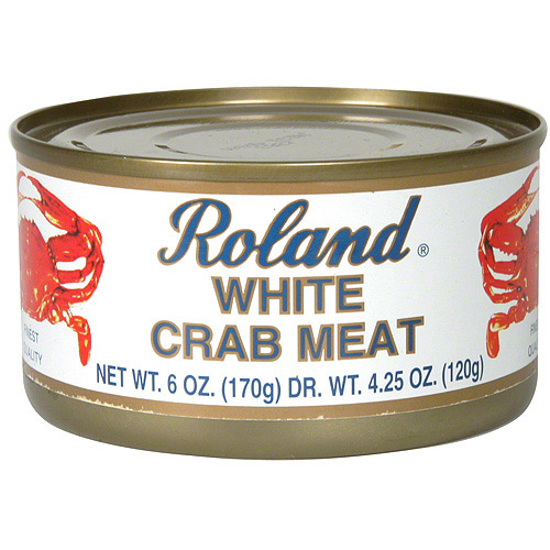 Roland White Crab Meat, 6 oz (Pack of 12)