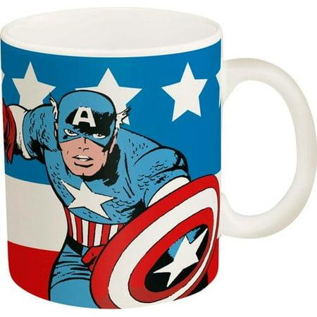American Ceramic (Captain America: 11.5 oz Ceramic Mug)