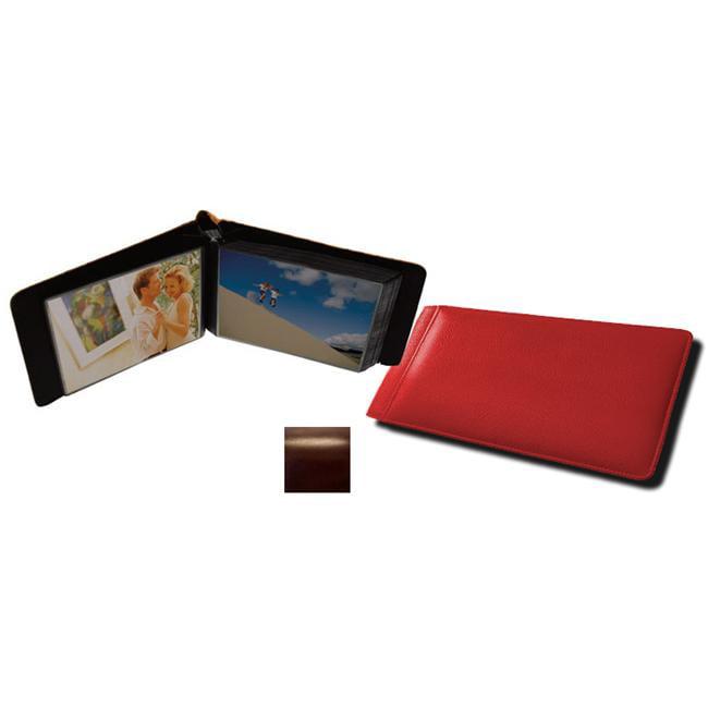 Raika RM 136 BROWN 4 x 6 Single Page Mini Photo Album - Brown