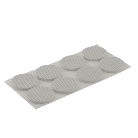 Table Chair Legs Round EVA Self Stick Furniture Foot Pads Mats White 38mm 8pcs