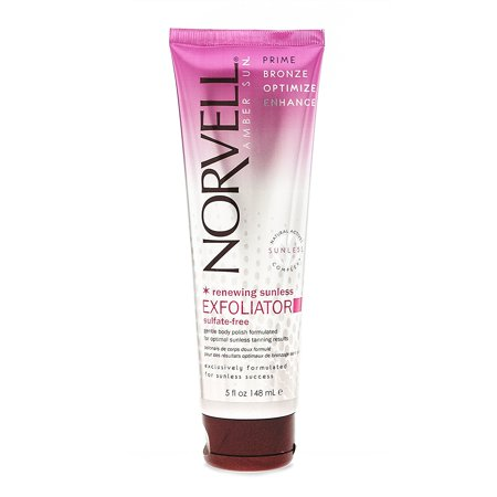Norvell Pre Self-Tanning Renewing Sunless Exfoliator Body Scrub - Sulfate-free, 5