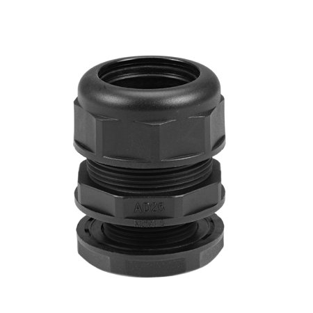Waterproof Cable Gland Corrugated Tube Joint AD25 Adjustable Locknut Pipe Clamps - image 1 de 5