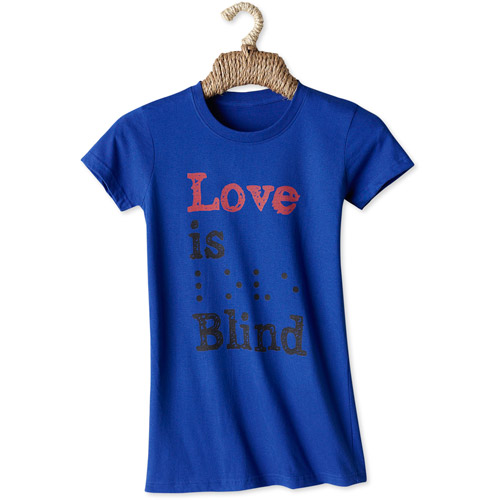 Choose USA Women's Love is Blind Graphic Tee