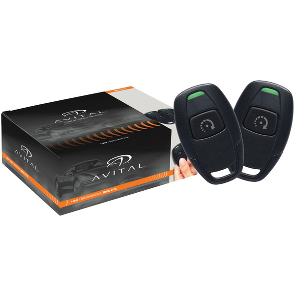 AVITAL 4115L 4115L Remote-Start System with Two Microsized 1-Button Remotes