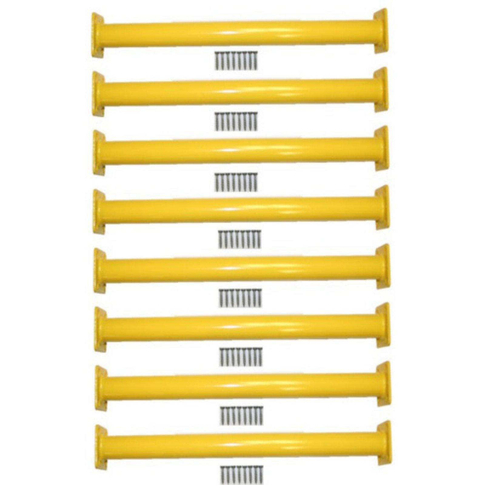 Eastern Jungle Gym Steel Monkey Bar Ladder Rungs 15.13 in. Long - Set of 8