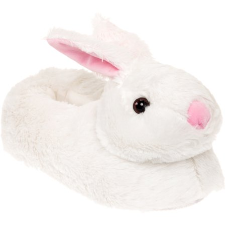 Silver Lilly New Clic Bunny Slippers Novelty Plush Animal House