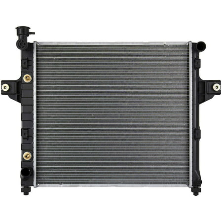 CU2262 Complete Radiator for Jeep Grand Cherokee 1999 2000 2001 2002 20003 2004 L6 (1999 Jeep Grand Cherokee Radiator Fan Not Working)