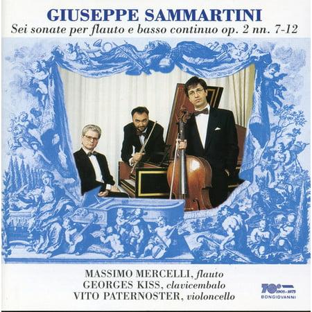 Sonate Per Flauto E Basso Continuo Op 2 Nn 7 12