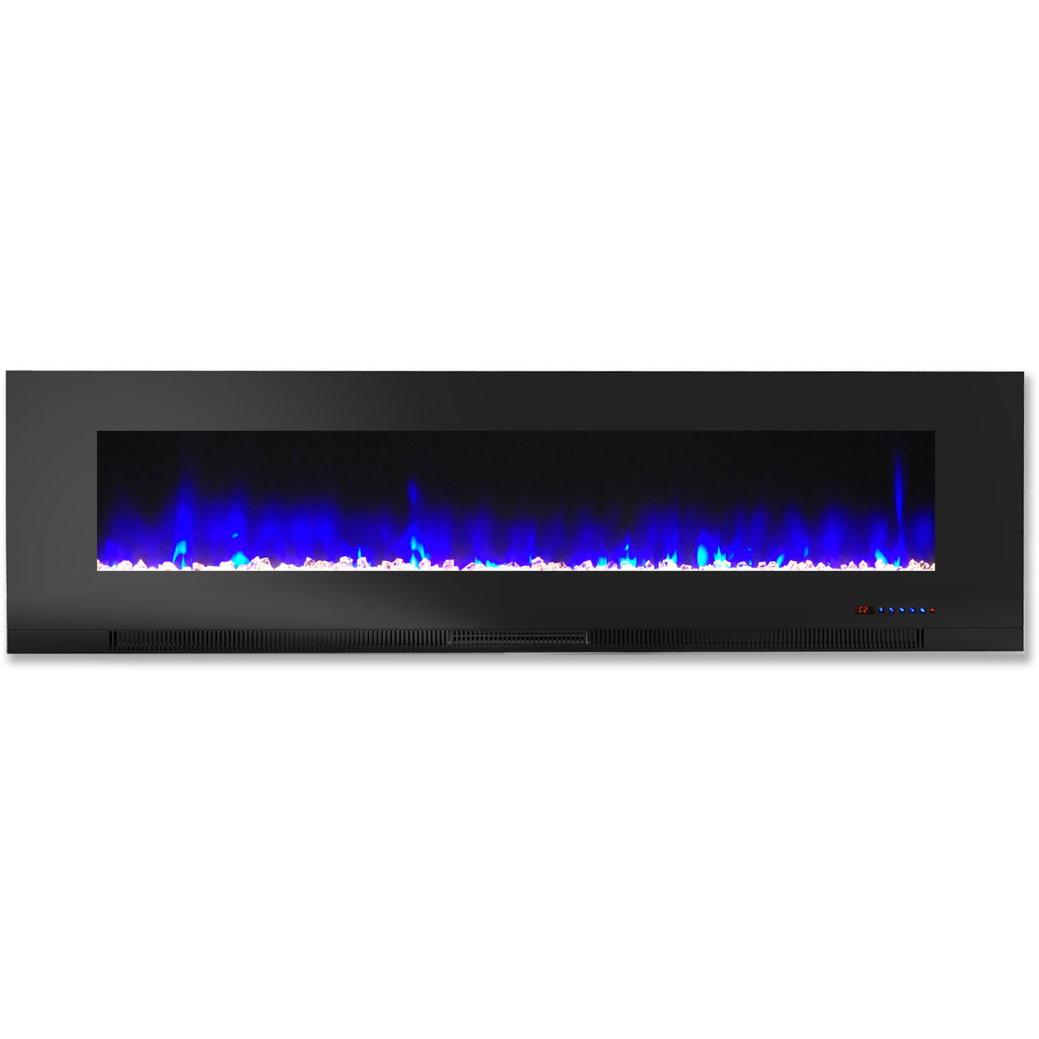 Cambridge 60 Wall Mount Electric Fireplace Heater With Multi Color