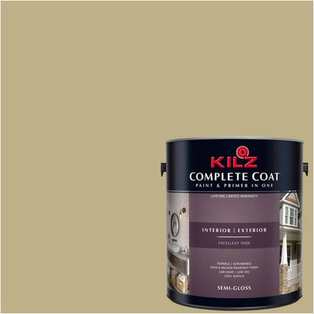 KILZ COMPLETE COAT Interior/Exterior Paint & Primer in One #LF150-02 Cumin (Role Of Cumin Seeds In Weight Loss)