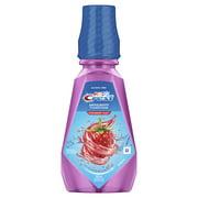 (2 pack) Crest Kid's Anticavity Alcohol Free Fluoride Rinse, Strawberry Rush, 16.9 fl oz