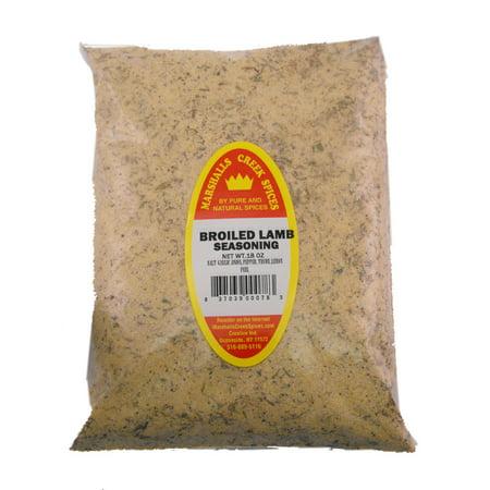 Marshalls Creek Spices BROILED LAMB SEASONING REFILL