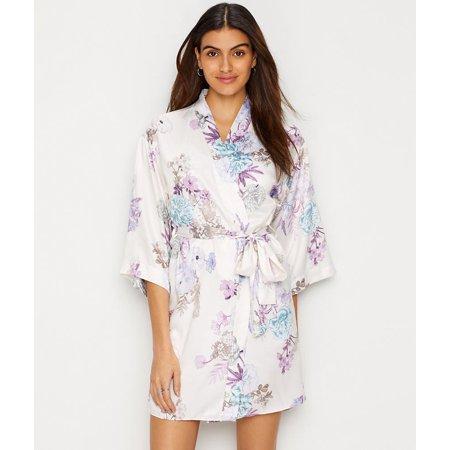 Kimono Vintage Robe - Flora Nikrooz Arisa Charmeuse Kimono Robe