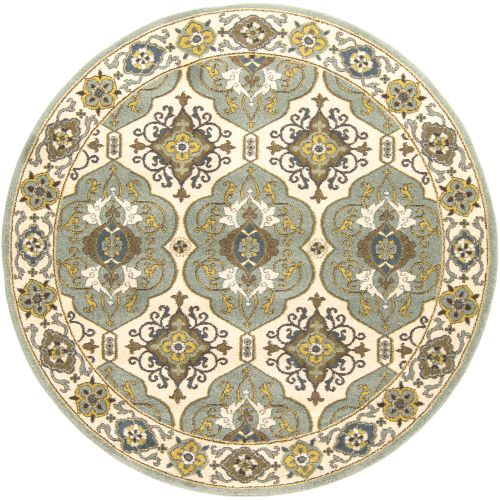 Surya Monterey Parchment & Pigeon Gray Area Rug