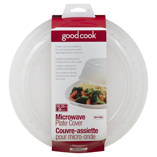 Bradshaw International, Good Cook Microwave Plate Cover, 1 cover