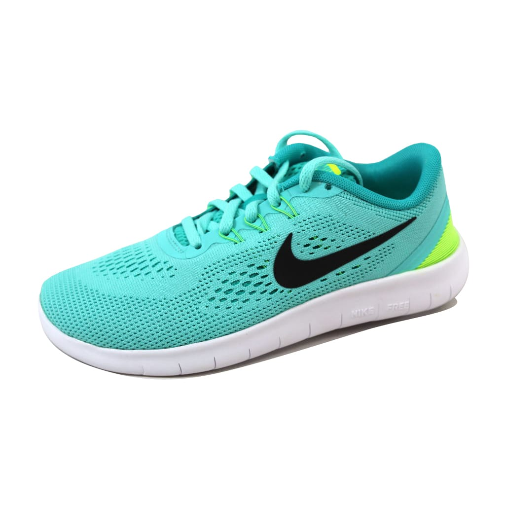 Nike Grade-School Free RN Hyper Turquoise/Black-Clear Jade 833993-300