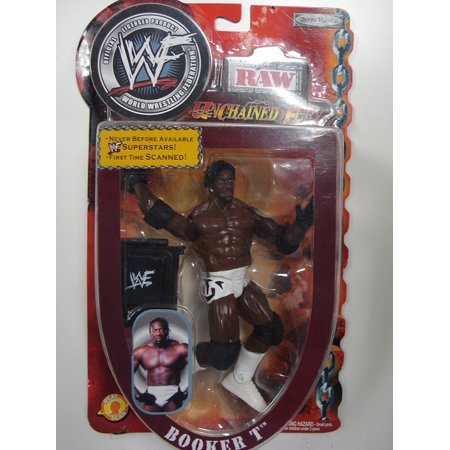 WWF Raw Unchained Fury Booker T Figure Pacific, WWF Raw Unchained Fury Booker T Figure By Jakks From USA