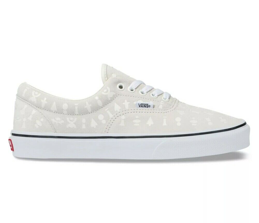 Vans - Vans Era Area 66 White/True White Men's Classic Skate Shoes Size 6.5 - Walmart.com