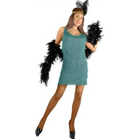 Jade Fashion Flapper Adult Costume