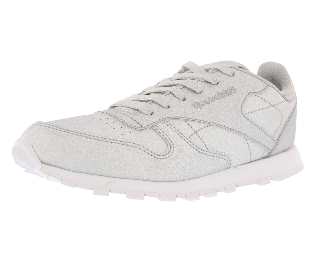 Reebok Classic Leather Girls Syn Casual Girls Leather Shoes Size a090d4