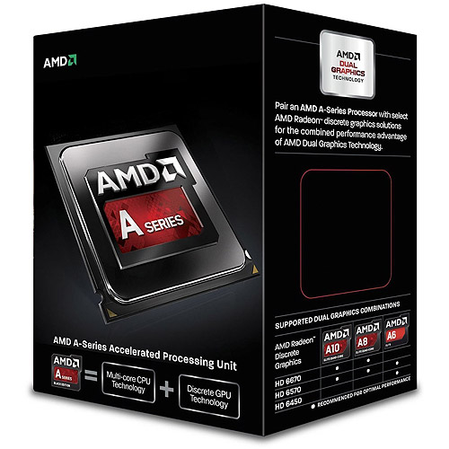 AMD A6-6400K with Radeon HD 8470D Dual-Core Desktop Processor